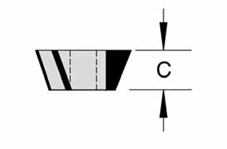 3 Wing Bevel Trim Cutters