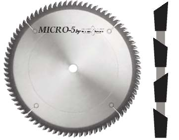 Micro-5 Double Faced Laminate Saws
