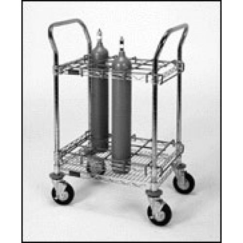 12 Bottle Mobile EMS Oxygen Cart