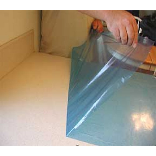 """Countertop Protective Film 3mil Blue 24"""" x 330' (2 Rolls)"""