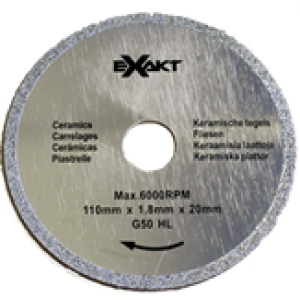 Diamond  Blade 110mm x G50 / Stone