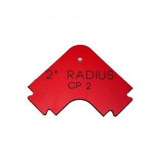 """Phenolic Straight Edge 2"""" Radius Corner"""