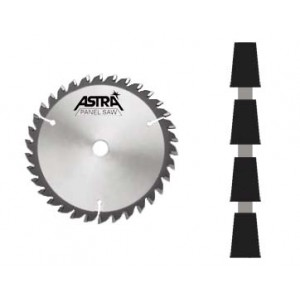 "Astra Series Scoring Blade 5"" (125mm) x 24 x 5/8"" Bore STR"