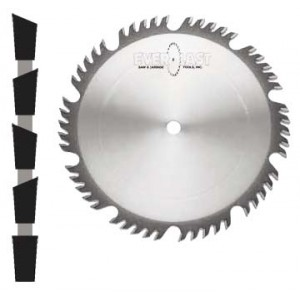 "Combination Blade 12"" x 60 x 1"" Bore AR"