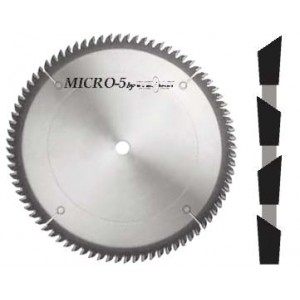 "Micro-5 Double Faced Laminate Blade 10"" x 80 x 5/8"" Bore 30ºATB"