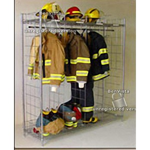 """Free Standing Ready Rack Gear Storage 18""""D x 74""""H x 384"""" / 18"""" sections"""