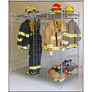 """Free Standing Ready Rack Gear Storage 36""""D x 74""""H x 72"""" 18"""" wide sections"""