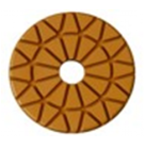 "3"" 7mm 200 Grit ROSEX Wet / Dry Phenelic Floor Polishing Pad"