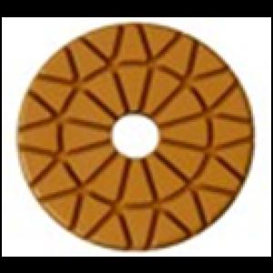 "3"" 7mm 400 Grit ROSEX Wet / Dry Phenelic Floor Polishing Pad"