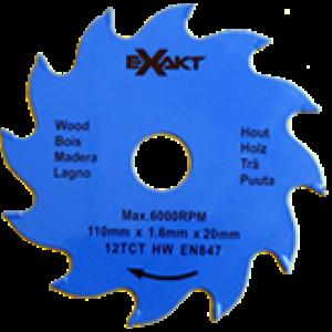 Carbide Tipped Blade 110mm x 12 TCT / Wood (1 pc pac)