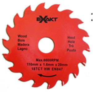 Carbide Tipped Blade 110mm x 18 TCT / Wood