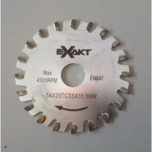 Exakt Saw Carbide Tipped Blade for Steel
