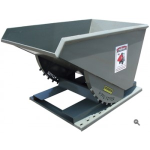 1 Cubic Yard Heavy Duty Self-Dumping Hopper
