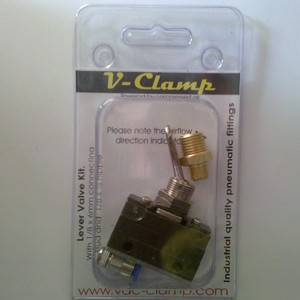 Vac-Clamp Lever Valve
