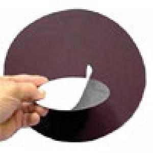 "1/2"" diameter x 36 Grit PSA Cloth Disc 100pc Pak"