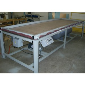"Solid Surface Vacuum Former 48"" x 103"""