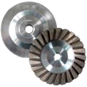 "4""  x5/8""-11 Sonico Resin Turbo Cup Coarse"