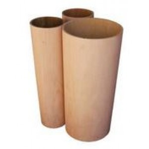 "34"" diameter x 5/16"" x 27 1/2"" Mahogany Cylindar"