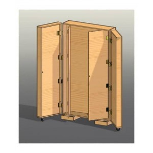 Multi Door Tool Cabinet Plans